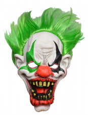 Green Zombie Clown
